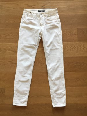 DRYKORN FOR BEAUTIFUL PEOPLE Jeans elasticizzati bianco Cotone