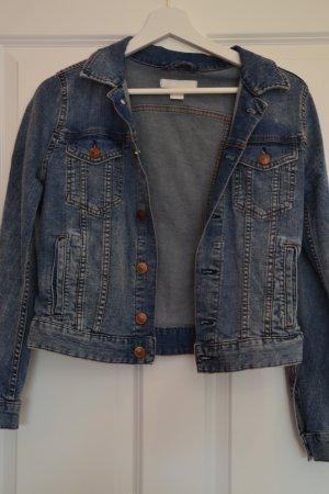 H&M Veste en jean multicolore