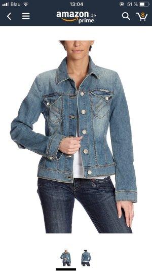 schicke Jeansjacke von Fornarina, Größe M (fällt kleiner aus)
