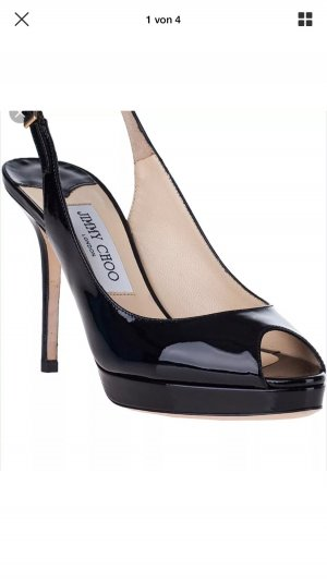 Schicke Jimmy Choo Peep Toe Pumps