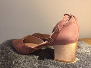 schicke Kiomi Schuhe mit Blockabsatz