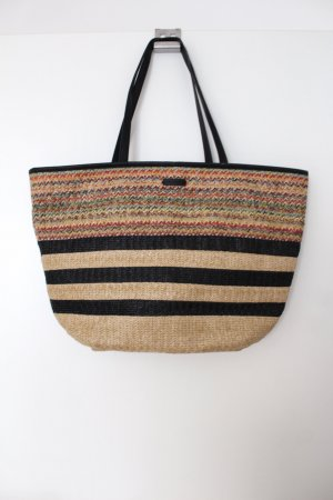 Mango Basket Bag black-camel