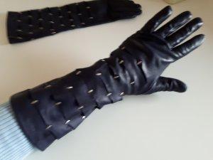 Schicke Leder Handschuhe