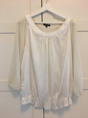 Schicke leichte weiße Bluse