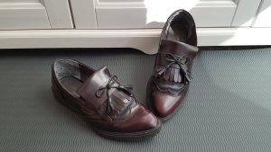 Schicke Loafer von TAMARIS, rot-braun, Gr. 39, sportiv-elegant