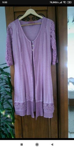 Linea Tesini Shirt Jacket lilac-lilac