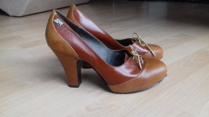 Miss Sixty Mary Jane Pumps multicolored leather