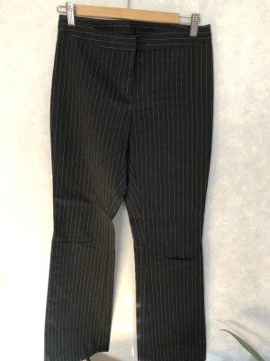 Benetton Pantalone jersey nero-bianco