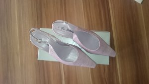 Gino Leather Sandals Ventori Strapped Mauve H9I2ED
