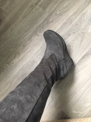Tamaris Overknees grey