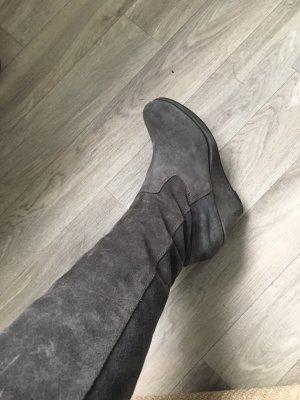 Tamaris Stivale cuissard grigio
