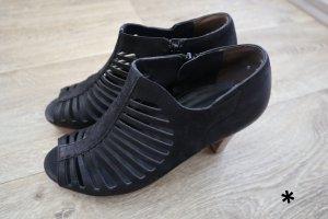 Schicke Peeptoe Sandaletten von Paul Green