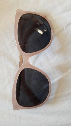 schicke rosa Sonnenbrille