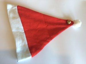 schicke rote Nikolausmütze mit Glöckchen
