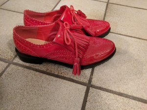 no name Flats rojo