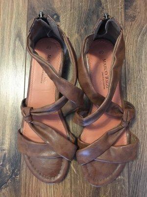 Marco Tozzi Roman Sandals light brown