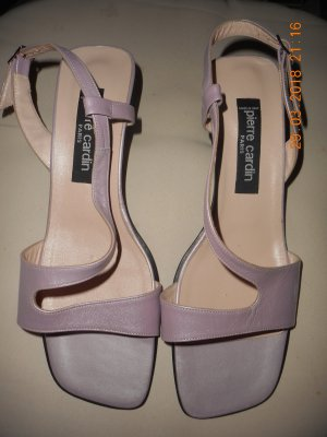 Pierre Cardin Strapped High-Heeled Sandals mauve