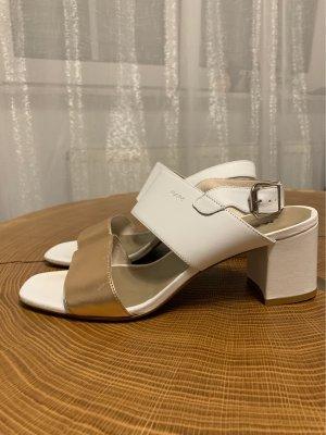 MARC Sandalen met bandjes en hoge hakken veelkleurig