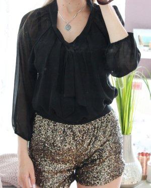 Only Slip-over blouse zwart