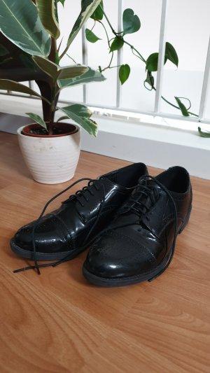 Asos Wingtip Shoes black