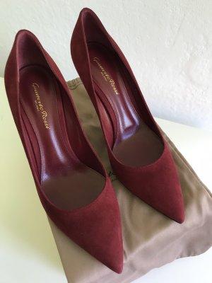 Schicke Schuhe von Gianvito Rossi, Wildleder, bardeaux, Gr. 39 NEU, UNGETRAGEN !!!