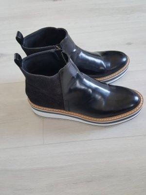 Zara Ankle Boots white-black