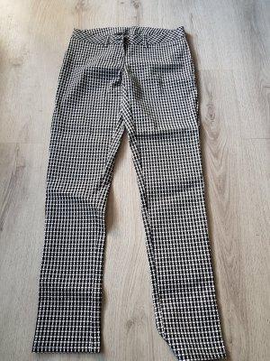 Schicke schwarz /weiß karierte Hose von Up Fashion