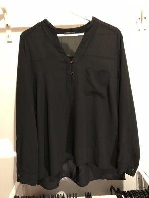 schicke schwarze Bluse - Büro & Alltag - Must-have - Gr 46