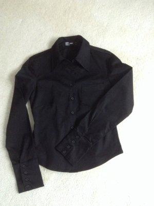 Schicke schwarze Bluse / Gr. 36/38 / ONLY