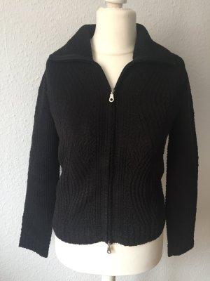 Schicke Schwarze Jacke Größe 36