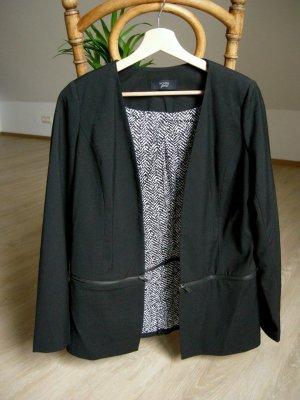 Nümph Lange blazer zwart Polyester