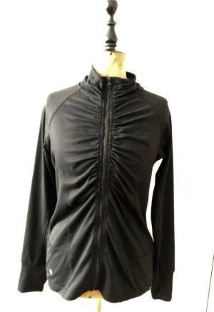Schicke schwarze Sport / Trainingsjacke