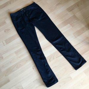 Schicke schwarze Stoffhose - Slim Fit / Skinny