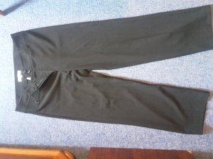 schicke schwarze Stoffhose XXL