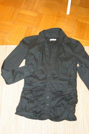 schicke schwarze TOM TAILOR Bluse, Gr. 36
