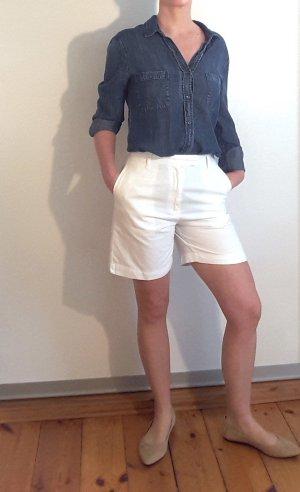 Schicke Shorts, kurze Hose von Conleys, weiß, High Waist, Gr. 36