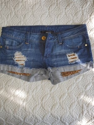 Tally Weijl Denim Shorts dark blue