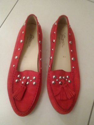 Sioux Pantoffels rood