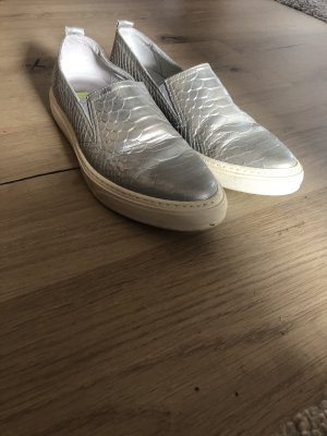 Bronx Slip-on Sneakers silver-colored