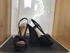 Chinese Laundry Wedge Sandals black