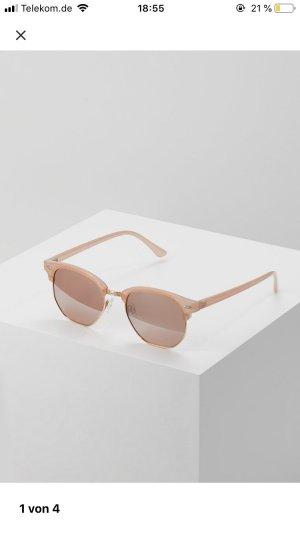 Even & Odd Occhiale da sole spigoloso color oro rosa