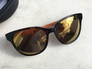 Oval Sunglasses multicolored synthetic material
