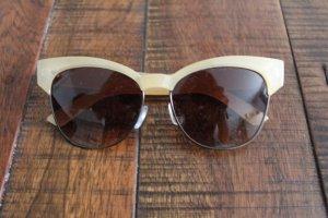 Mango Hoekige zonnebril zwart-room