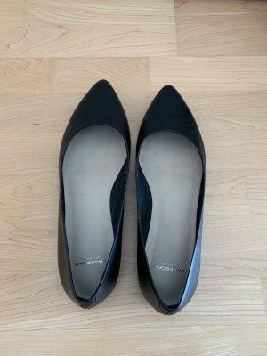 Vagabond Bailarinas con punta negro Cuero