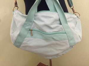 Schicke Sporttasche in Mint aus Baumwolle