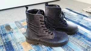 Lace-up Boots slate-gray