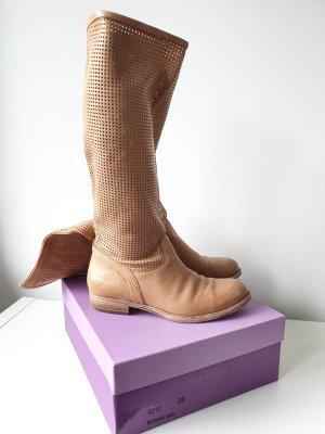 Paul Barritt Botas elásticas marrón claro