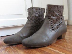 Schicke Stiefeletten von Marc Shoes 40,5 grau taupe