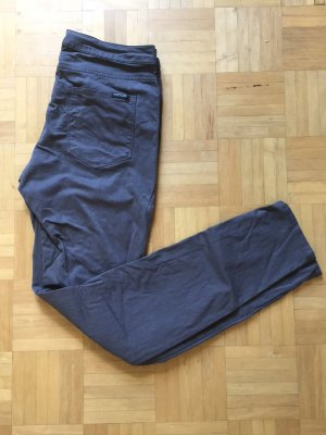 Maison Scotch Jersey Pants grey cotton