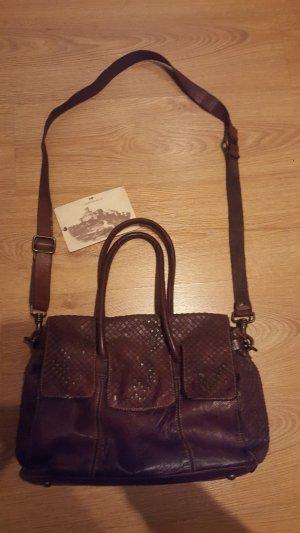 Schicke, stylische Campomaggi Handtasche in braun NEU mit Etikett